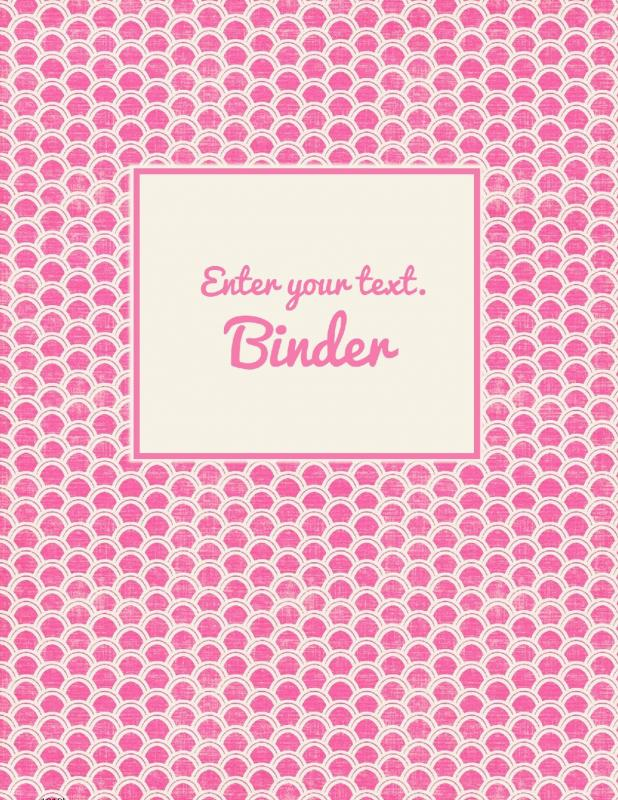 free binder cover templates