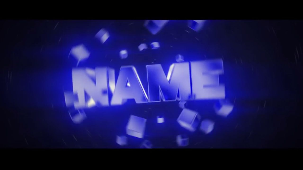 custom video intro templates free blender intro templates