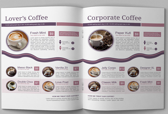 Free booklet template for Online product catalog template