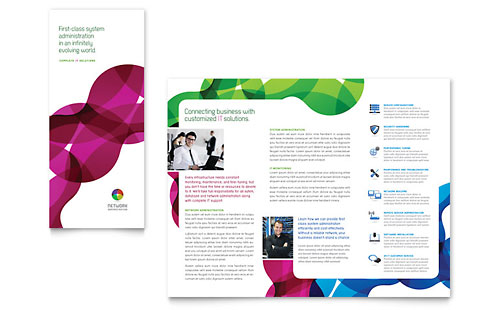 free brochure templates for microsoft word