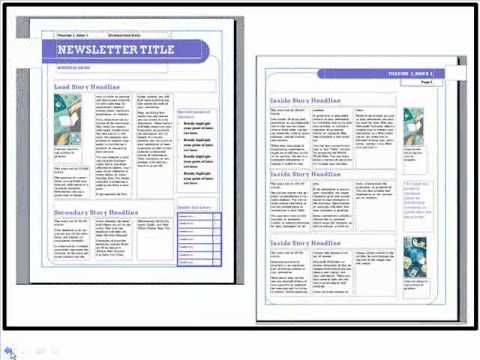 free church bulletin templates