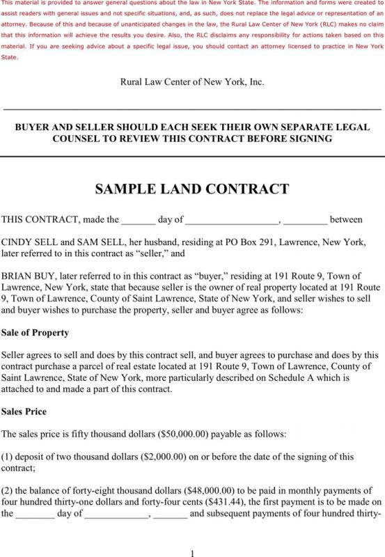 free contract for deed template