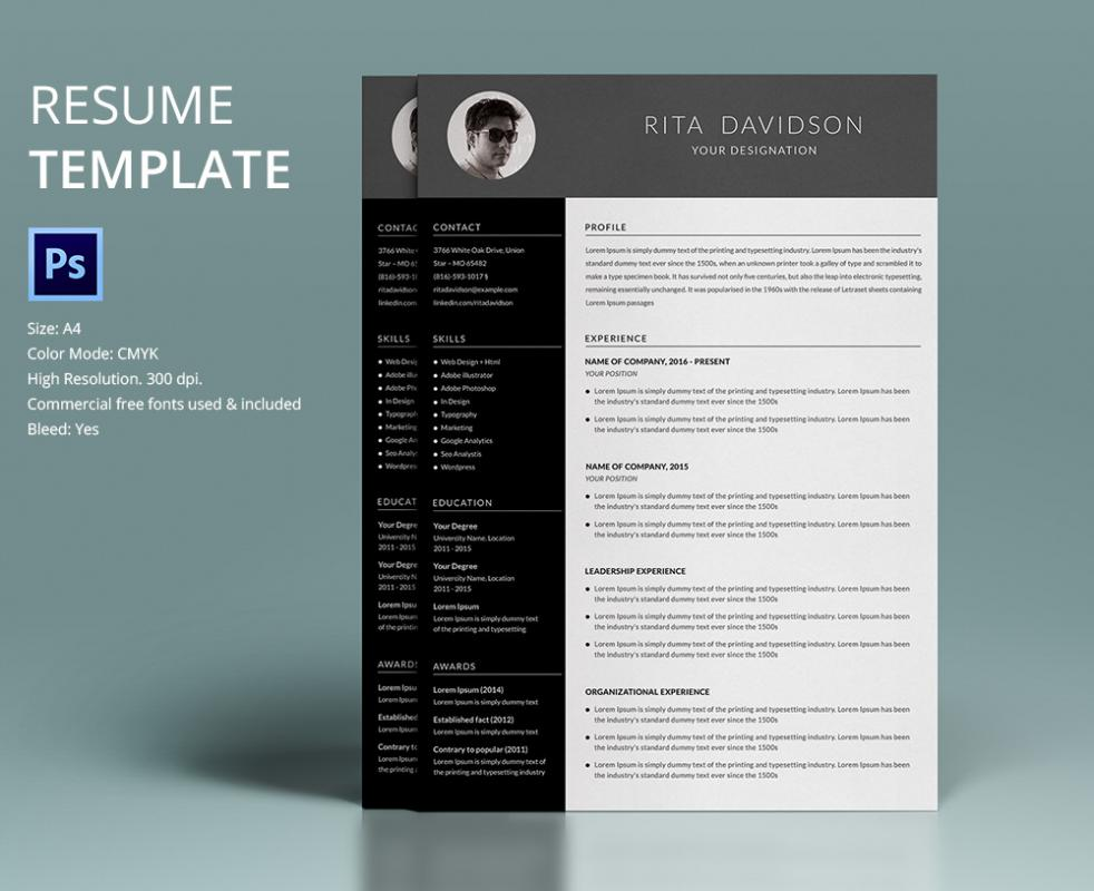 free inventive resume templates word