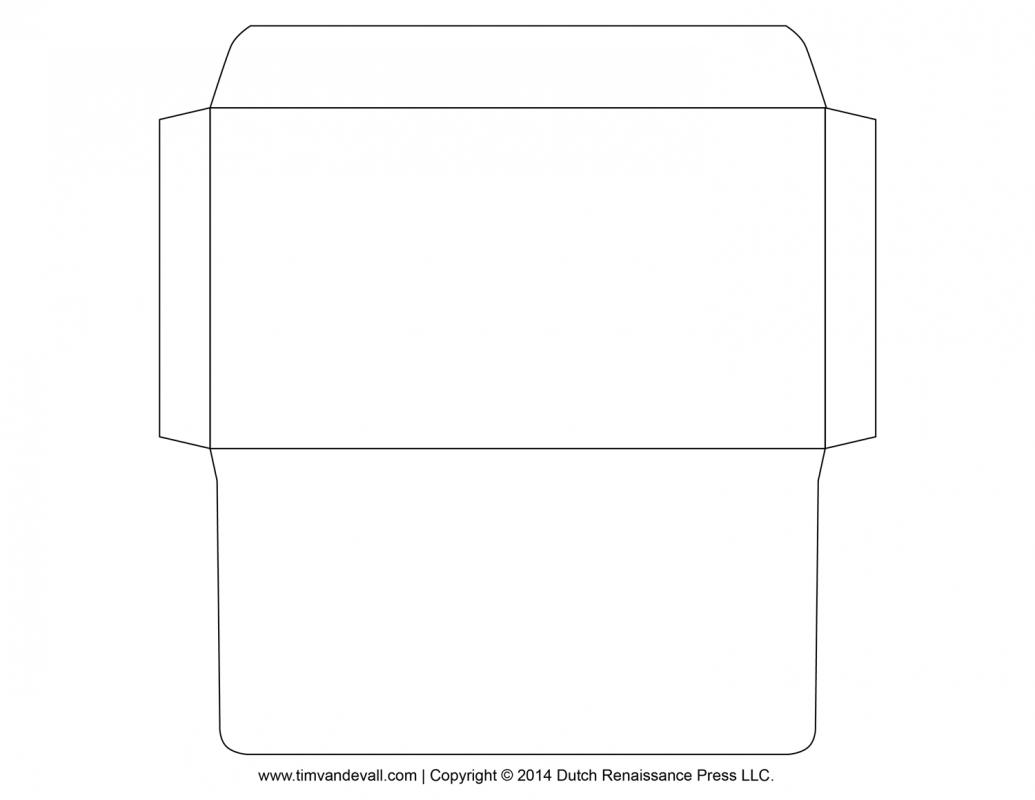 Free envelope printing template for Free envelope printing template