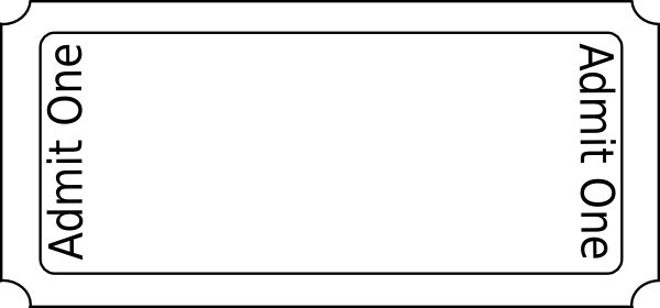 Blank Event Ticket Template Extraordinary Blank Ticket Template  Zoro.blaszczak.co