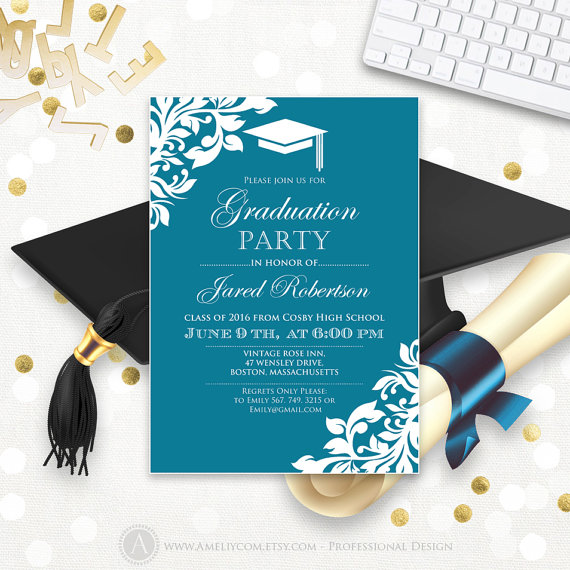 Free Graduation Announcement Templates | shatterlion.info