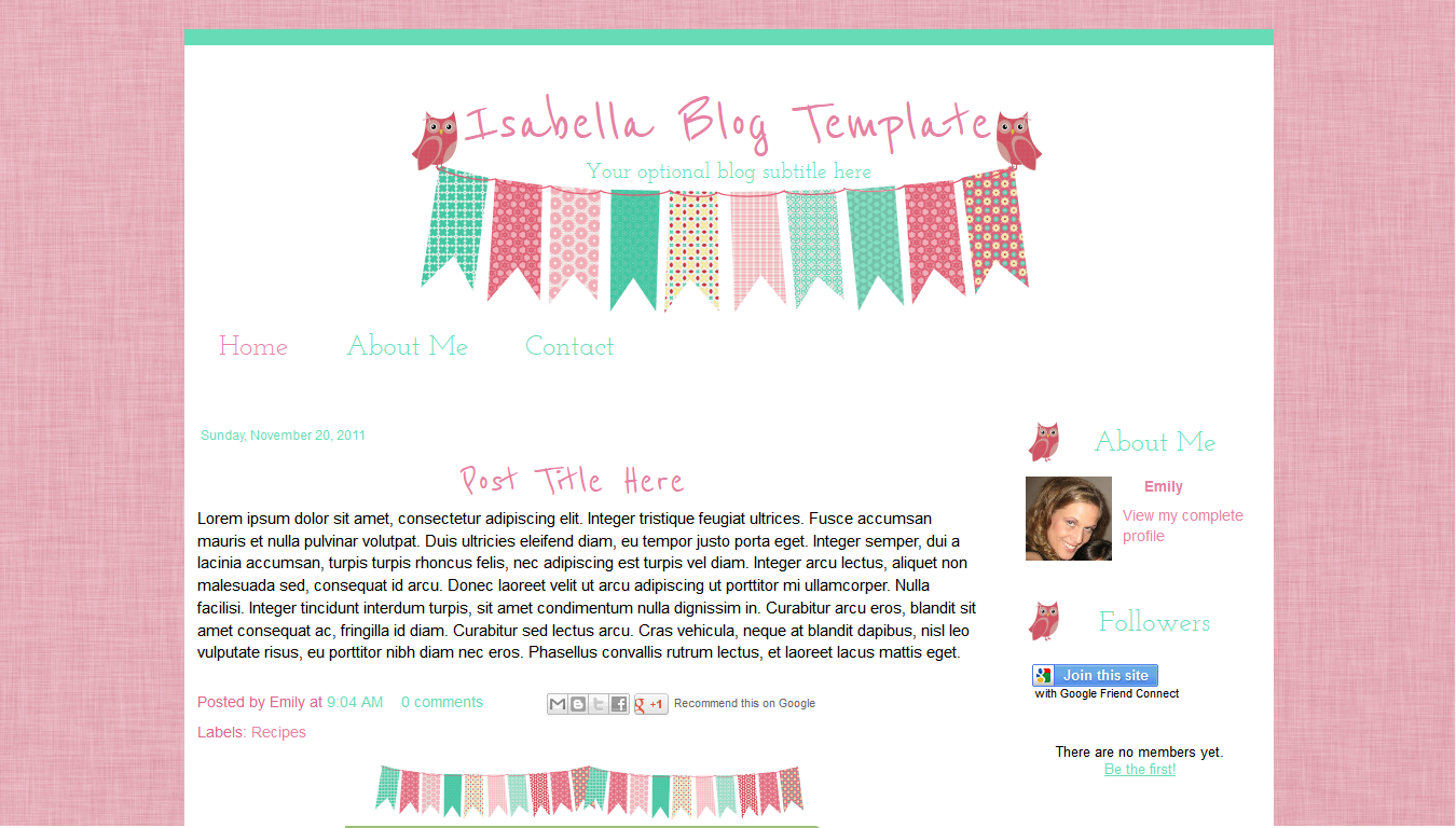 Free Html Blog Templates | shatterlion.info