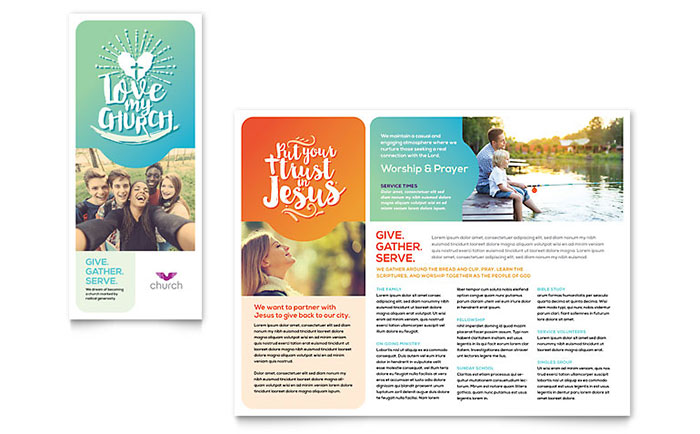 Free Indesign Brochure Templates Shatterlionfo