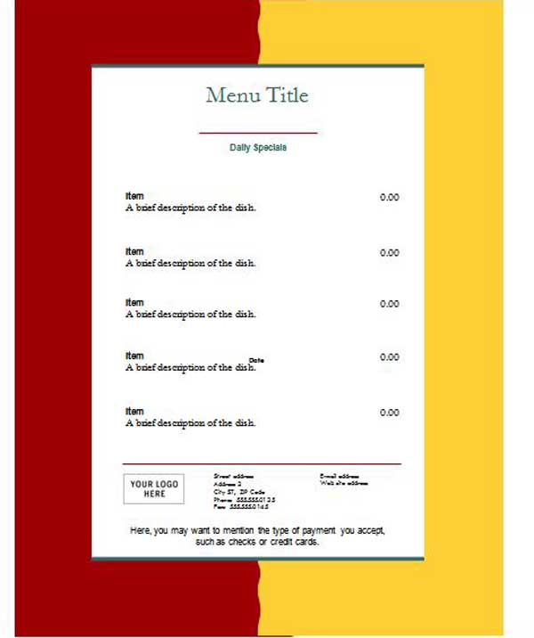 online menu template muco tadkanews co