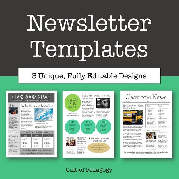 Free Preschool Newsletter Templates Shatterlioninfo - How to create a newsletter template