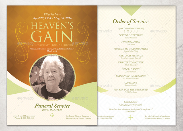 Free Printable Funeral Prayer Card Template  Prayer Card Template Free