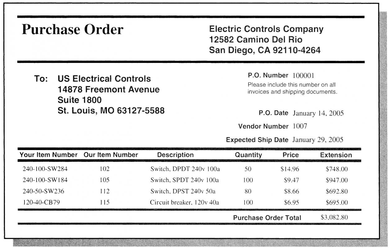 Free Purchase Order Template | shatterlion.info