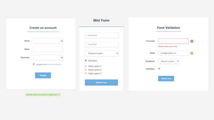 Free Registration Form Template | shatterlion.info