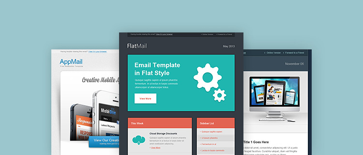 Free Responsive Email Templates | shatterlion.info