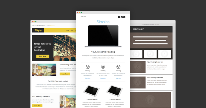 free responsive email templates
