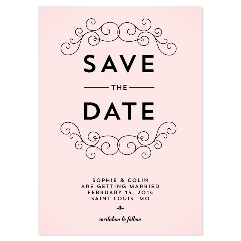 free save the date postcard templates
