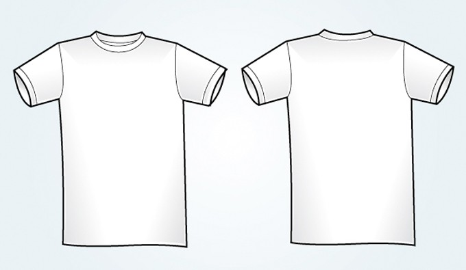 free t shirt template