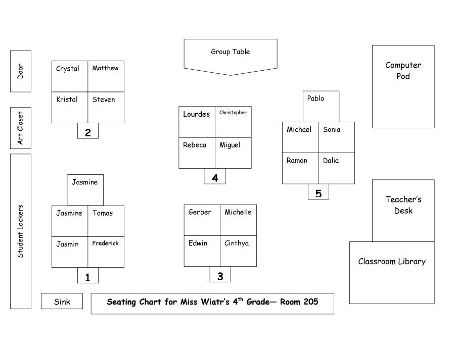 Free Wedding Seating Chart Template | shatterlion.info