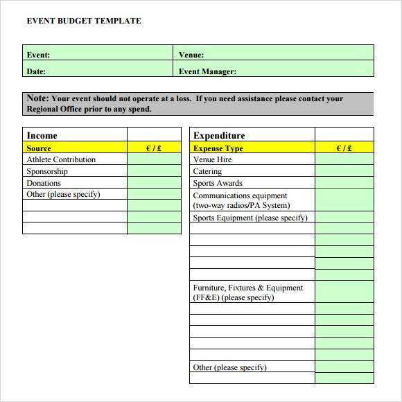 Fundraising Plan Template | shatterlion.info