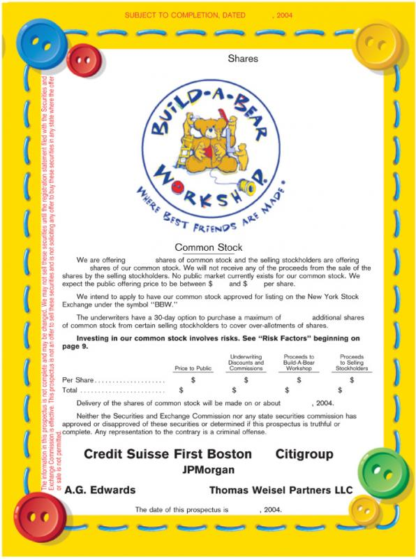 Gift certificate template pages for Build a bear birth certificate template