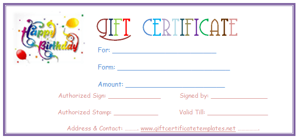 free printable gift certificate templates for word east