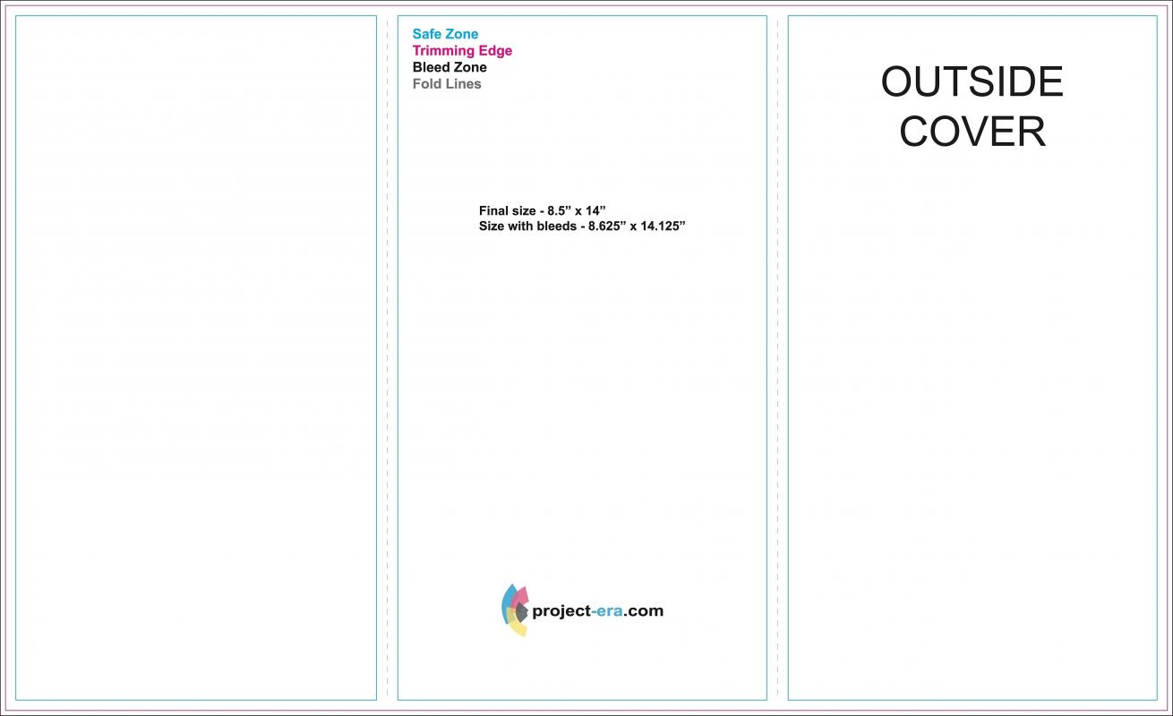 Google brochure template for Tri fold brochure template google docs