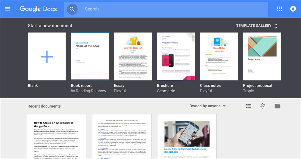google docs flyer template