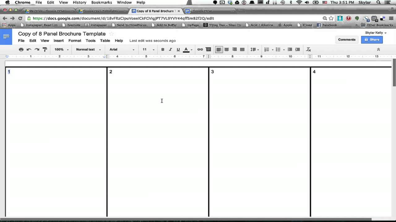 Google Docs Newspaper Template Shatterlionfo