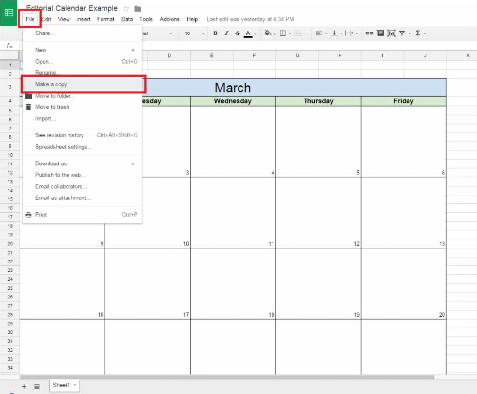 google sheets schedule template. Black Bedroom Furniture Sets. Home Design Ideas