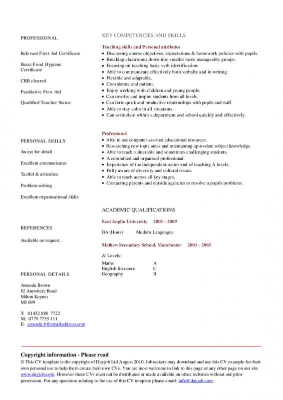 graduate school resume template microsoft word