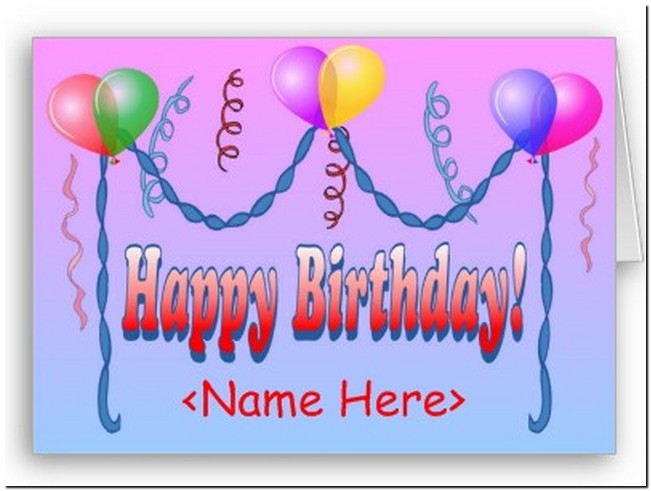Happy Birthday Template Word  Free Birthday Templates For Word