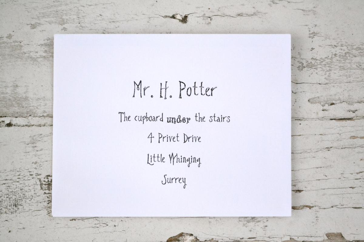 picture about Harry Potter Envelope Template Printable named Harry Potter Letter Template