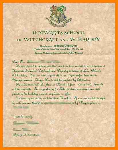 photograph relating to Harry Potter Envelope Printable titled Harry Potter Letter Template