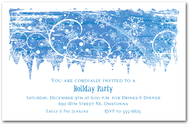 vacation party invitation template holiday party invitation template
