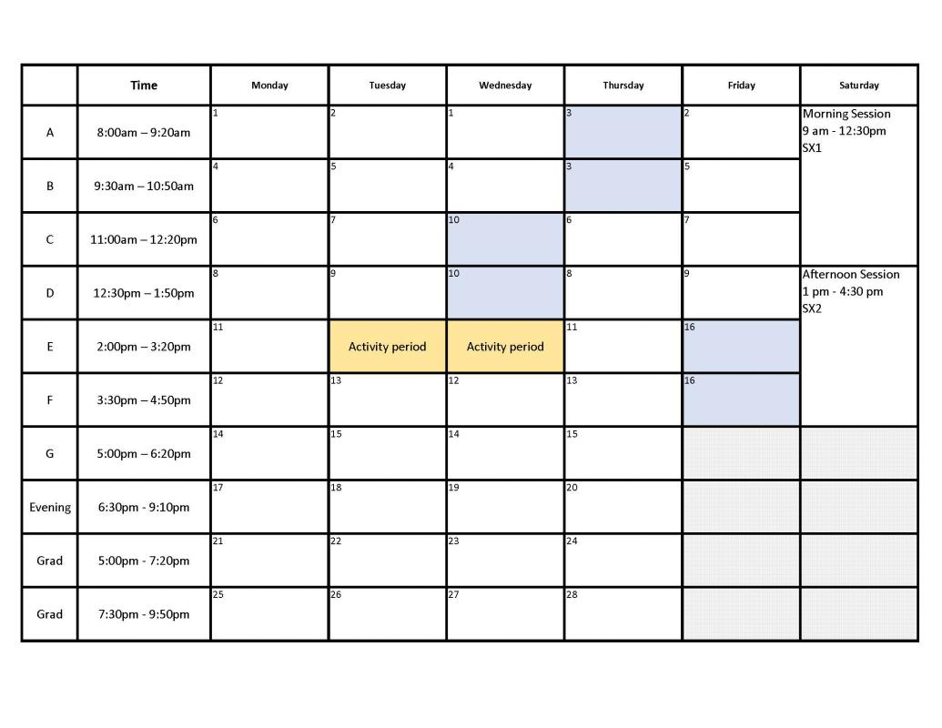 Superb Hourly Schedule Template