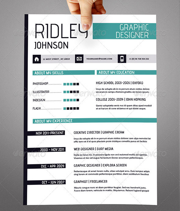 Download Free Creative Resume Templates. 10 Free Resume Templates Template,  Free And College. Resume Template 2 Page \/ Cv Template + Cover Letter ...  Resume Templates Indesign
