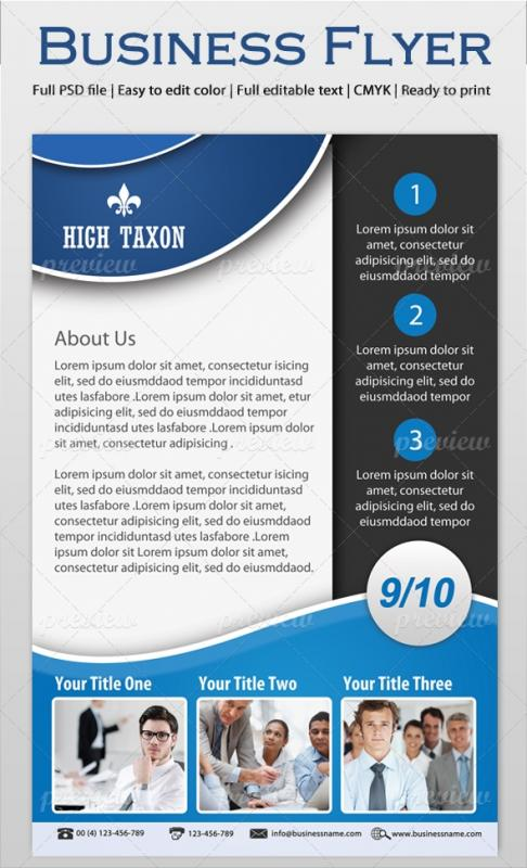 Informational Flyer Template Shatterlionfo