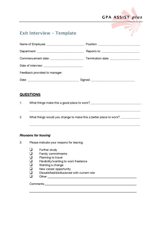 Interview Questions Template  Interview Questions Template