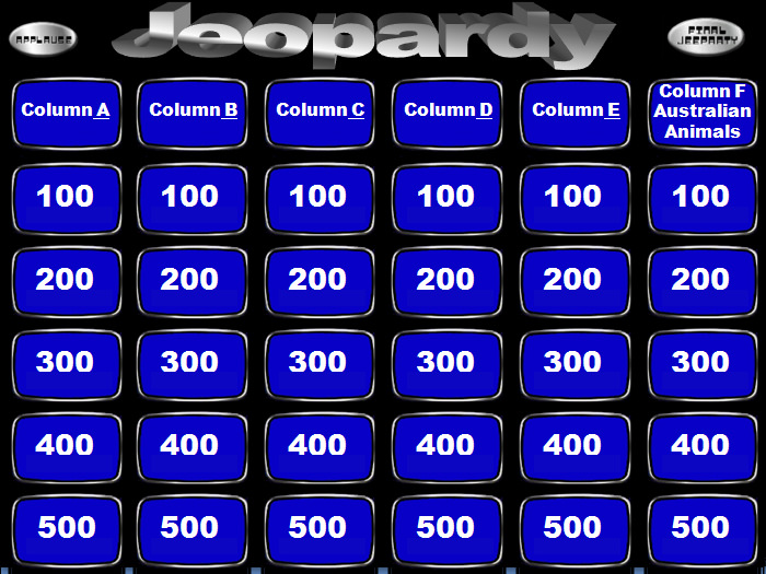 jeopardy template ppt