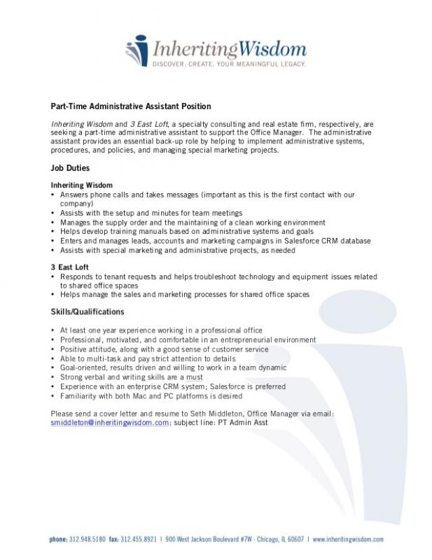 Job Description Template Shatterlion Info