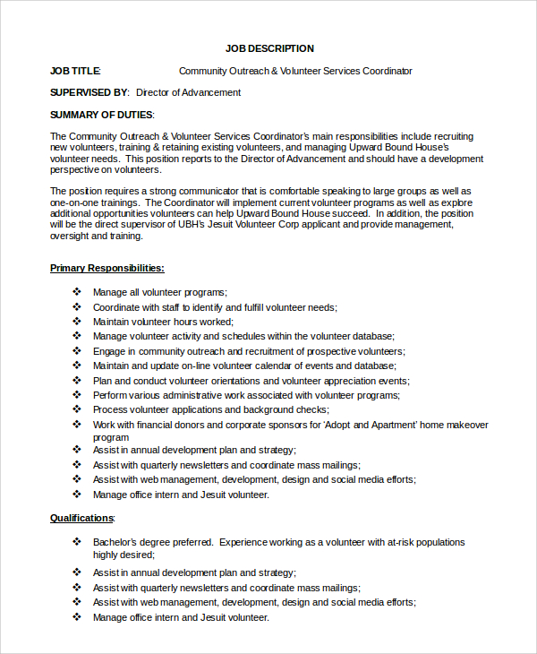 Job Description Template Shrm | shatterlion.info