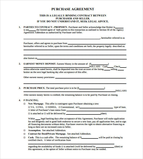 Land Contract Template  ShatterlionInfo