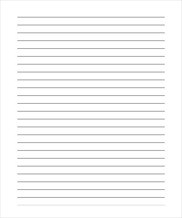 Lined Paper Template Pdf shatterlioninfo