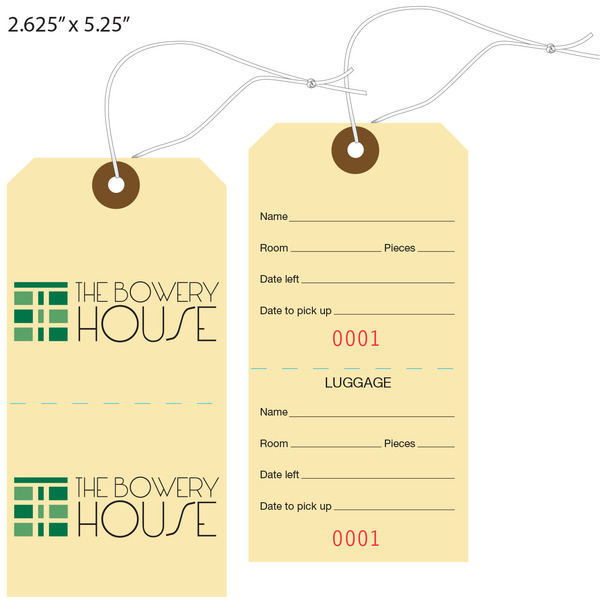 Luggage Tag Template | Shatterlion.info