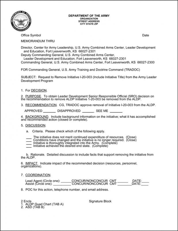 Memorandum for record template for Memorandum for the record template