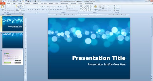 microsoft office powerpoint templates