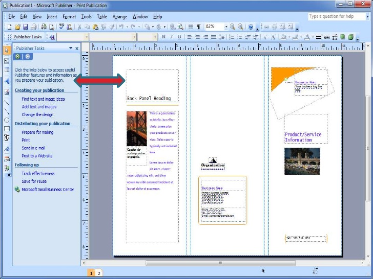 microsoft publisher book template
