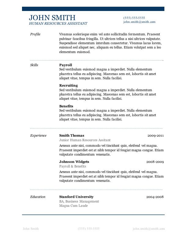 Microsoft Word 2007 Resume Template Shatterlion Info