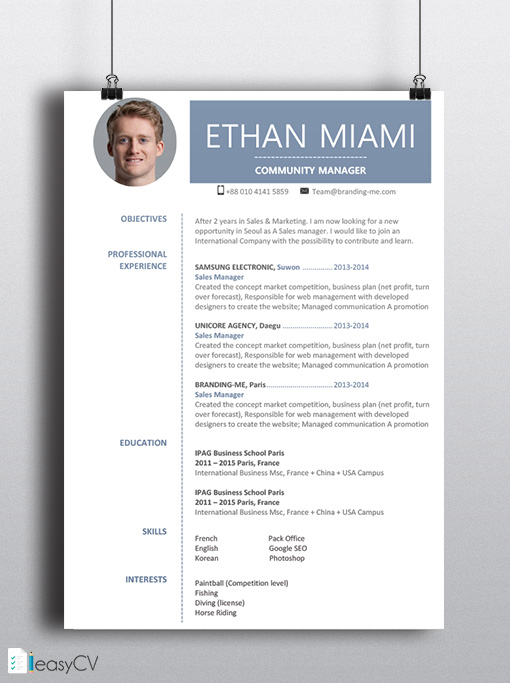 microsoft word 2007 resume template