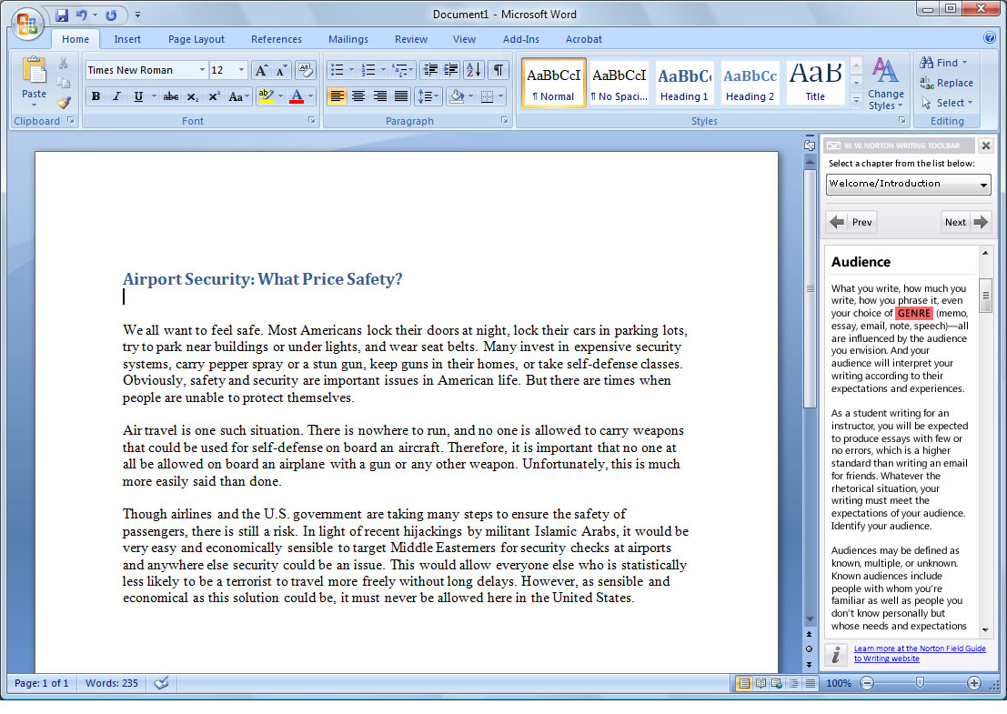 microsoft word apa template